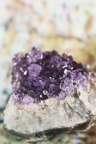 amethist kristal steen
