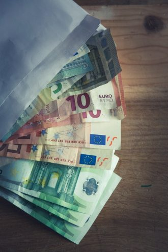 cash geld euro's