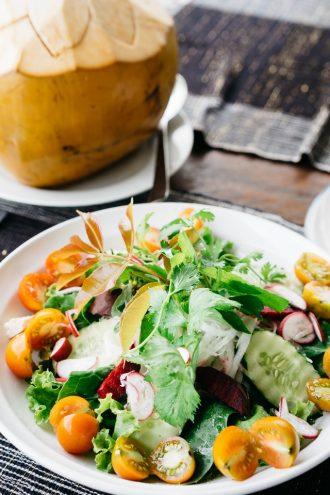 Gezonde vegan maaltijd